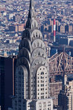 New York City Chrysler Building Royalty Free Stock Photo