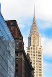 New York City Chrysler Building Stock Photo