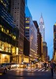 New York City Chrysler Building Stock Images