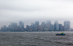 New York City Cityscape Stock Photography