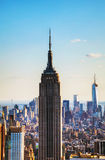 New York City cityscape with Empire State building Royalty Free Stock Photo