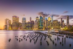 New York City Cityscape Stock Image