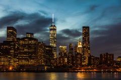 New York City cityscape Royalty Free Stock Photography