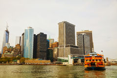 New York City cityscape Royalty Free Stock Image