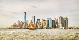 New York City cityscape panorama Royalty Free Stock Photo