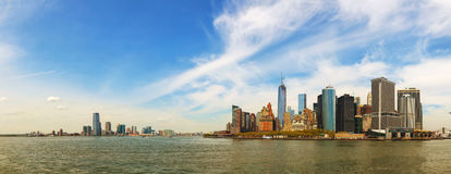 New York City cityscape panorama Royalty Free Stock Photography
