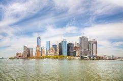 New York City cityscape Stock Photos