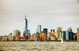 New York City cityscape Royalty Free Stock Photo