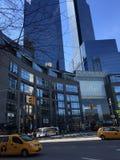 New York City Columbus Circle fotografia de stock
