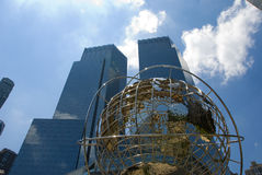 New York City - Columbus Circle Stock Images