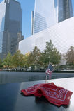 9/11 New York City commémoratif Image libre de droits