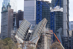 9/11 New York City commémoratif Images stock
