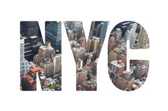 New York City concept Royalty Free Stock Images