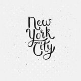 New York City Concept on Dotted White Royalty Free Stock Images
