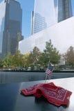 9/11 New York City conmemorativo Imagen de archivo libre de regalías