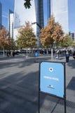 9/11 New York City conmemorativo Fotos de archivo libres de regalías