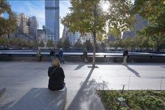 9/11 New York City conmemorativo Foto de archivo