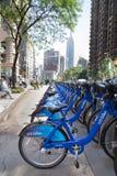 New York City cyklar Arkivfoton