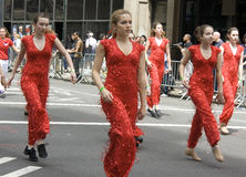New York City dance parade Royalty Free Stock Photo