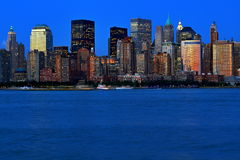 New York City dans des couleurs vives Images stock