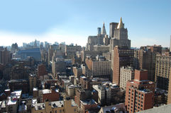 New York City Daytime Aerial Royalty Free Stock Photos