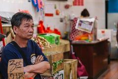 NEW YORK CITY - 16 DE JUNIO: Chinatown con una población estimada Fotografía de archivo