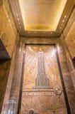 NEW YORK CITY - 20 DE MAYO DE 2013: Interior del Empire State Building Imagenes de archivo