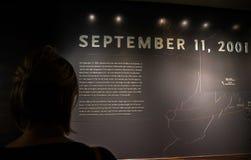 New York City 9/11 de museu Foto de Stock Royalty Free