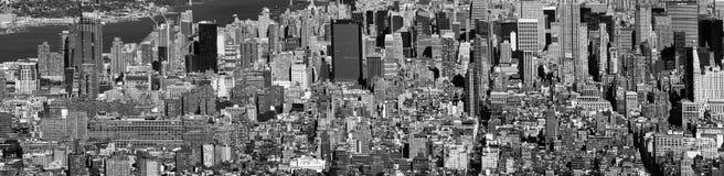 NEW YORK CITY - 25 DE OUTUBRO DE 2015: Skyline panorâmico da cidade do franco Foto de Stock Royalty Free