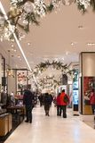 Macy`s Department Store at Herald Square in Manhattan stock photo