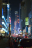 New York city Defocused Stock Image