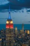 New York City du centre Photos libres de droits