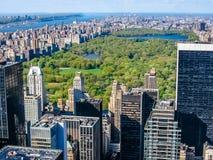 New York City e Central Park Imagens de Stock