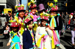 New York City: 2016 Easter Parade Participants Royalty Free Stock Photos