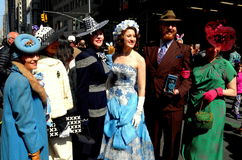 New York City: 2016 Easter Parade Participants Royalty Free Stock Photography