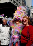 New York City: 2016 Easter Parade Participants Royalty Free Stock Image