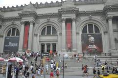New York City, el 2 de julio: El edificio ENCONTRADO a través del vidrio en Manhattan de New York City en Estados Unidos Imagenes de archivo