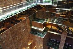 New York City, el 1 de julio: Interior de la torre del triunfo de Fifth Avenue en Manhattan de New York City en Estados Unidos Foto de archivo libre de regalías