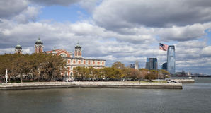 New York City Ellis Island Stock Image