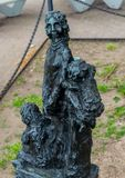 New York City Ellis Island Immigrant Statue imagens de stock