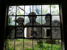 New York City Ellis Island Immigrants imagens de stock