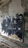 New York City Ellis Island Immigrants imagem de stock