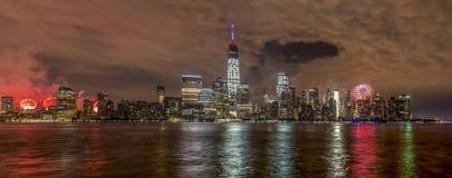 New York City em 4o julho 201 Imagem de Stock Royalty Free