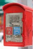 New York City Emergency Callbox Royalty Free Stock Image