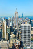 New York City. Empire state building of New York city stock image
