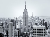 New York City with the Empire State Building on the foreground Stock Photography