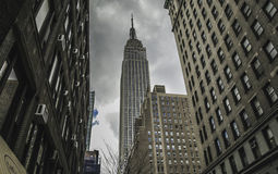 New York City - Empire State Building. This photo was taken in March, 2013 in New York City, USA Stock Image