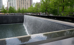 New York City 9/11 Erinnerungsreflexions-Pool Stockfotos