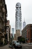New York City/EUA - 27 de junho de 2018: Arranha-céus de 56 Leonard Street Imagem de Stock Royalty Free