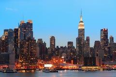 New York City evening Stock Photo
